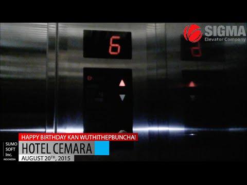 Sigma Lifts At Hotel Cemara, Jakarta