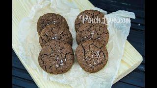 ШОКОЛАДНОЕ ПЕЧЕНЬЕ с морской солью  Простой и бюджетный рецепт Chocolate chip cookies