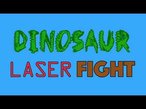 Dinosaur Laser Fight LYRIC VIDEO