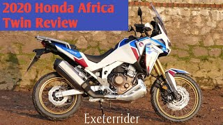 THE NEW 2020 HONDA CRF1100 AFRICA TWIN REVIEW