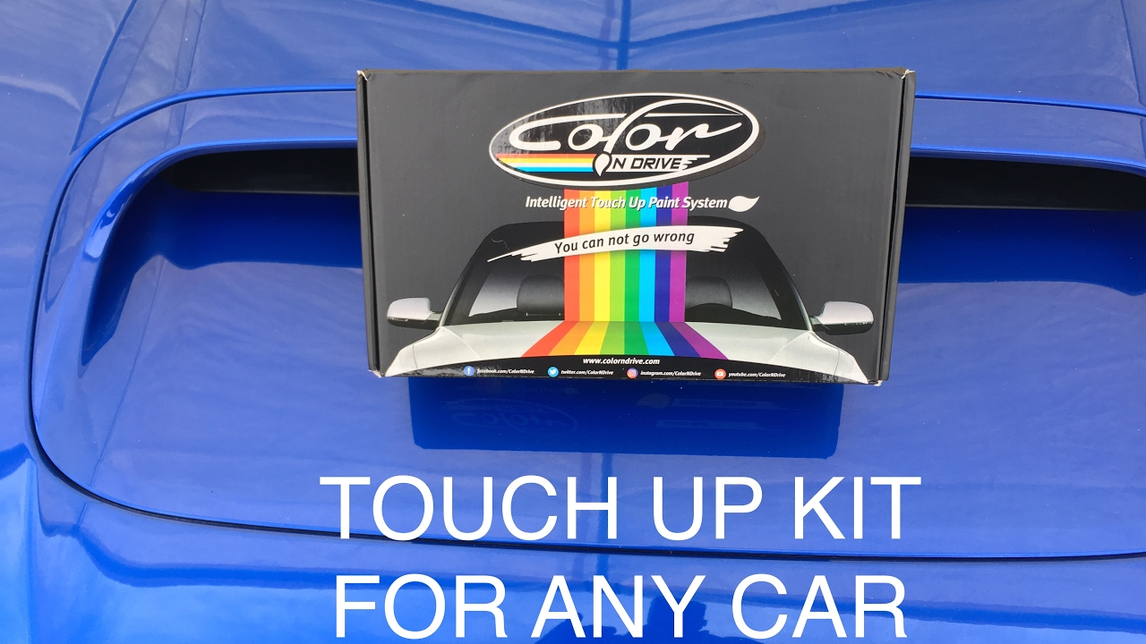 touch up paint kit unboxing color n drive fast and easy and cheap way to fix up your car youtube. Black Bedroom Furniture Sets. Home Design Ideas