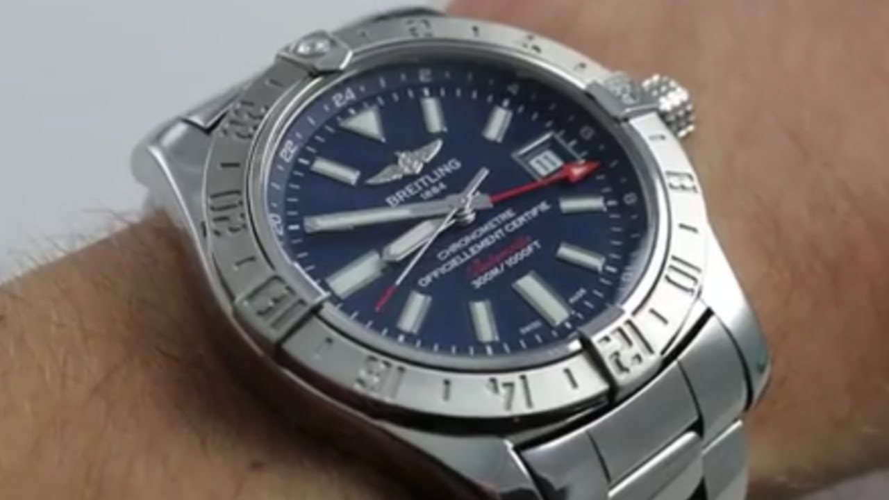 55a0f4fb53f Breitling Avenger II GMT Luxury Watch Review - YouTube