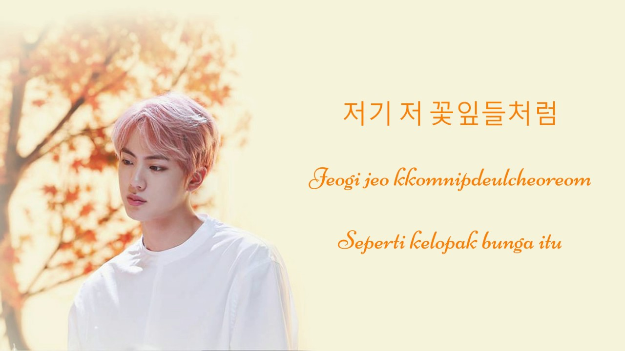 BTS (Kim SeokJin) - Awake [Hangul | Romaji | Indonesia] Lyrics