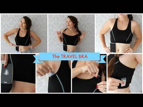 The Amazing TRAVEL BRA!   Yvette Barnett