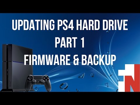 Updating PS4 Hard Drive Part 1: Firmware And Backup (link Updated To V. 5.00)
