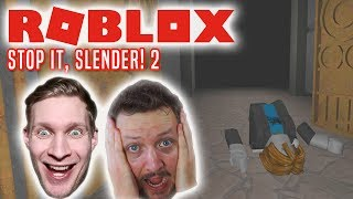 LOOK AWAY, MOOSE! -Danish Roblox Stop It Slender 2 with the Manous Moose