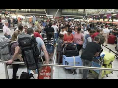 Passengers Facing Hours In Queues At Some European Airports