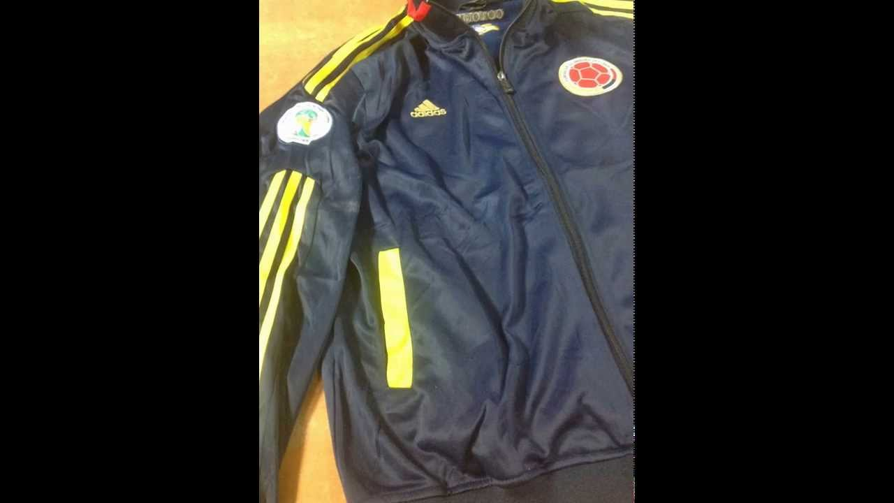 roshe run pas ch re - Seleccion Colombia Soccer Football Spring Jacket - 4 Sale - 2014 ...