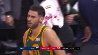 3rd Quarter, One Box Video: Los Angeles Clippers vs. Utah Jazz