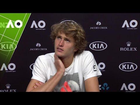 Alexander Zverev press conference (3R) | Australian Open 2017