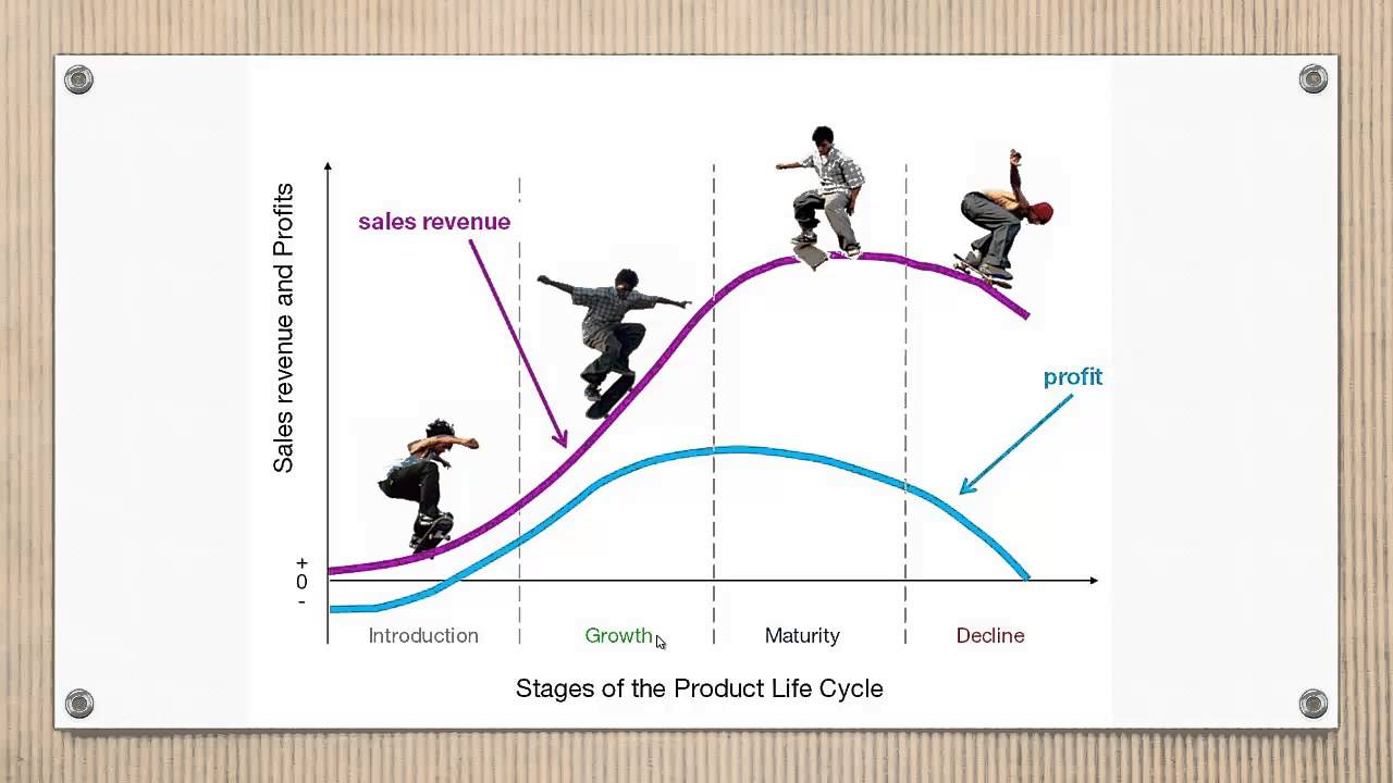 product life cycle stages examples The diagram above shows that the respective sales (in red) and profits (in blue) across five stages are illustrated the typical products life cycle.