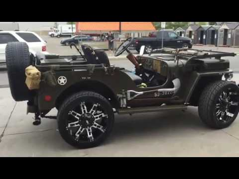 Best Willy / ford open jeep modified by Jaipur jeep lovers and sended in Canada