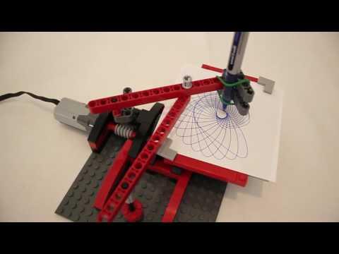 LEGO Drawing Machine - Drawing 5 Designs