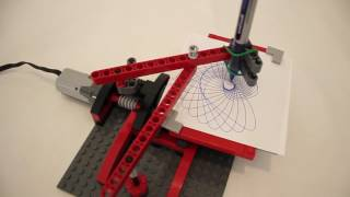 LEGO Drawing Machine - Drawing 5 Designs