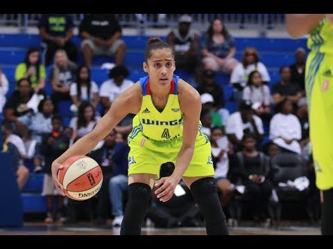 SKYLAR DIGGINS-SMITH LEADS THE DALLAS WINGS TO A PLAYOFF BERTH!!! - 8.30.17