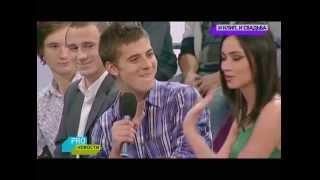 Съемки дебютного клипа Настасьи Самбурской песня 'Ничего не жаль'