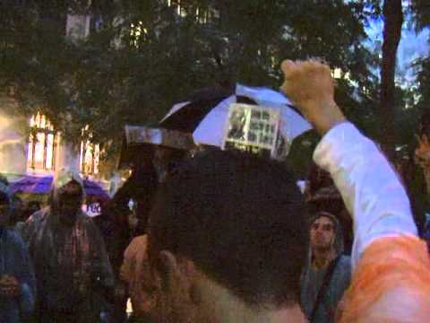 Occupy Wall Street's Moving Tribute to Troy Davis