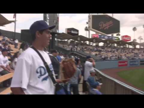 Sandy Koufax Throws Out the First Pitch on Opening Day 2013