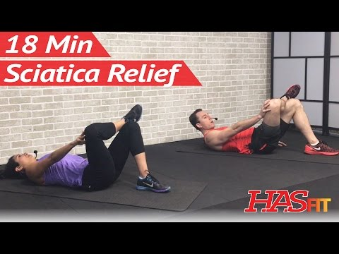 18 Min Sciatica Exercises for Leg Pain Relief - Sciatica Relief & Treatment for Sciatic Nerve Pain