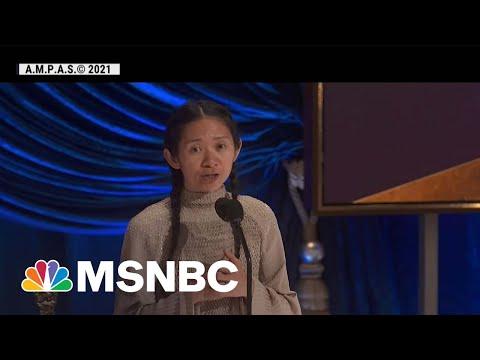 China Censors Chloé Zhao's Historic Oscars Win   MSNBC