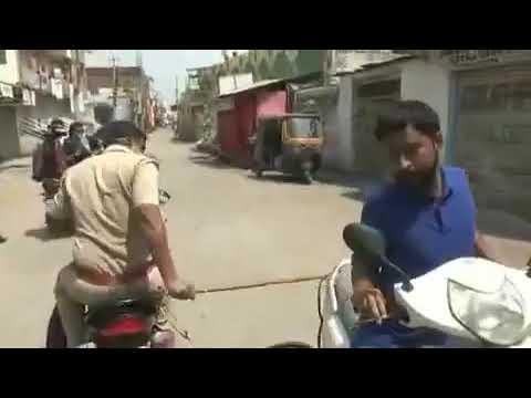 Наказание за нарушение режима карантина в Индии! Нарушил режим карантина получил наказание!