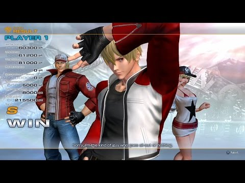 The King of Fighters XIV [Ver. 2.0]: Rock/Terry/Alice Arcade Playthrough