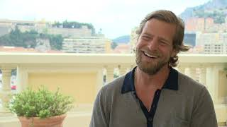 Henning baum - series tv jury member interview during the 55th monte-carlo festival
