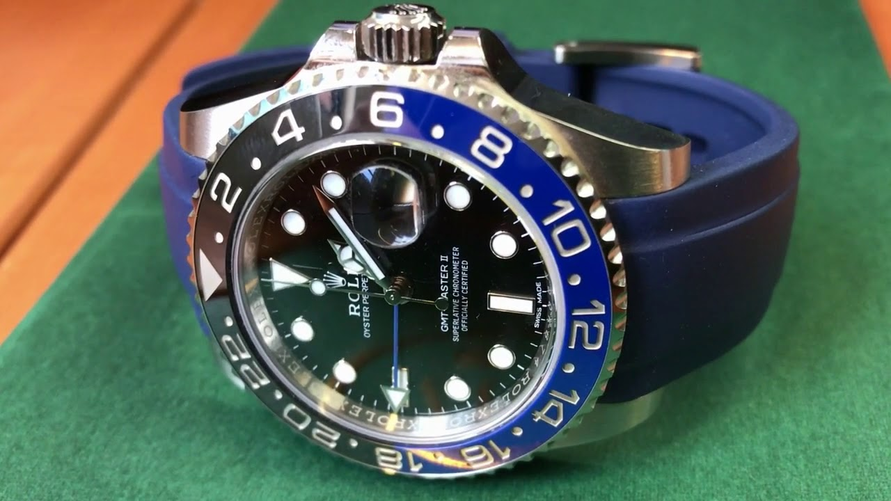 Rolex Rubber Luxury Rubber Straps For Your Rolex Wrist Watch Everest Rubber Straps
