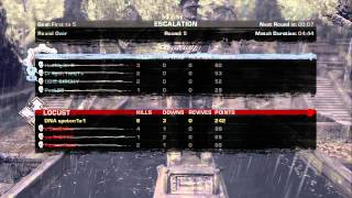 Gears of war one 1v4 shotgun clutch and hate after and then kick out off match