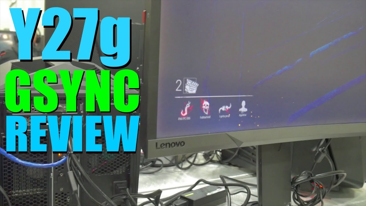 Lenovo Y27g Curved Gaming Monitor Review