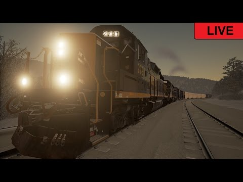 Train Sim World: CSX Heavy Haul Live Willard to Cumberland service! MADNESS!