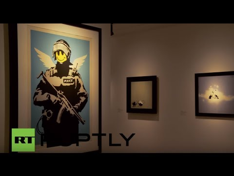 Italy: Massive Banksy expo goes on show in Rome, without artist's consent