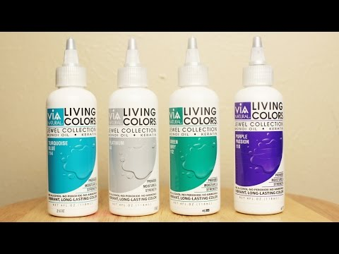 Best Hair Color?! | Via Natural Living Colors Jewel Collection Review and Demo