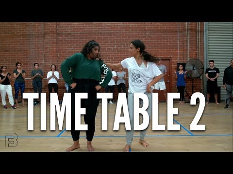 """Time Table 2"" - BHANGRA FUNK Dance 