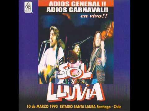 Sol y Lluvia - Adios General (1990)(Disco Completo)