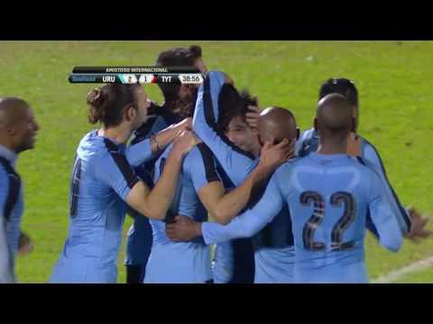 Amistoso - Uruguay 3:1 Trinidad y Tobago