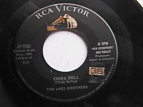 THE AMES BROTHERS  CHINA DOLL RCA RECORDS