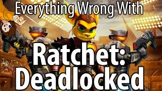 Everything Wrong With Ratchet: Deadlocked (Gladiator) - valeforXD