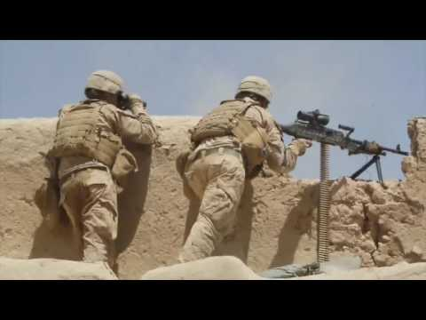 US Marines in Heavy Combat Action Against Taliban - Intense Firefights and Clashes | Afghanistan War