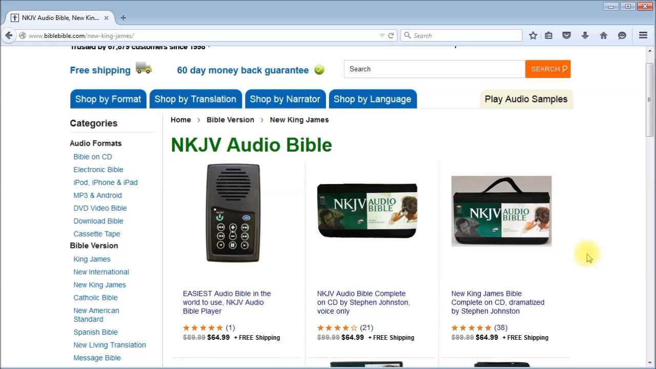 Audio Bible Download Mp3