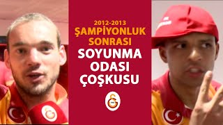 2012-2013 Sezonu Şampiyonluk Sonrası Soyunma Odası - Galatasaray