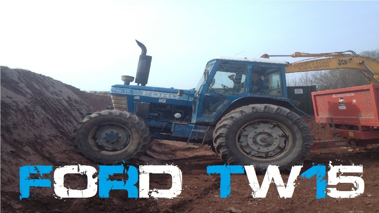 Walk Around A Ford TW 15 Tractor (Old Fords Never Die They Just ...