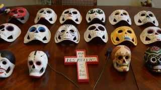 VIDEO: Imperial resident celebrates Dia de los Muertos by painting masks