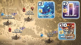 7 Electro Dragon + 10 Max Balloon + 7 Max Bat Spell :: TH11 ATTACK STRATEGY 2019 | Clash Of Clans