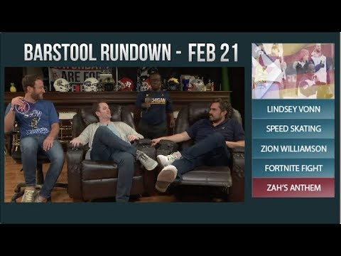 Barstool Rundown - February 21, 2018
