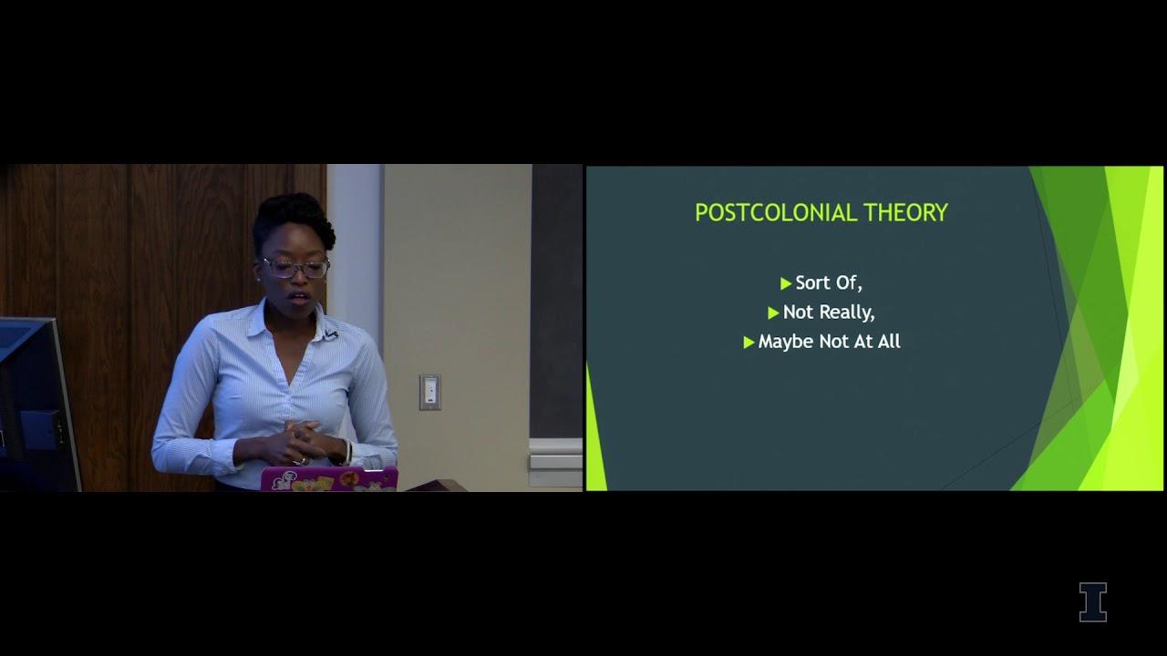 Shona Jackson (Texas A&M) on Postcolonial Theory | Unit for
