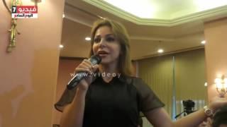 بالفيديو.. سوزان نجم الدين: فخورة بوجود نجمة فى بلدى مثل سولاف فواخرجى
