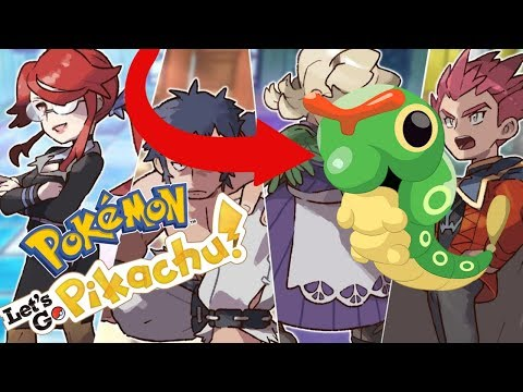 Beating The Elite Four With One Pokemon! - Let's Go Pikachu
