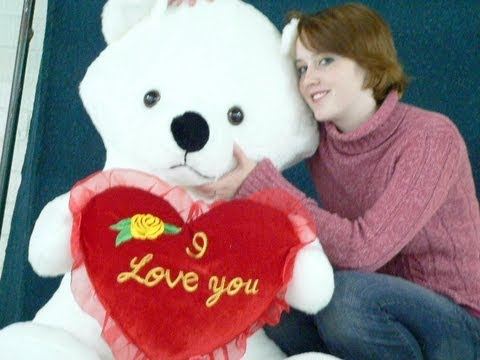 Giant Valentines Day Teddy Bear Big Mama Love Bear Free Name Custom  Imprinted MADE IN USA