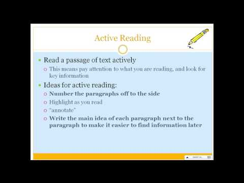 How to Annotate and Highlight a Text